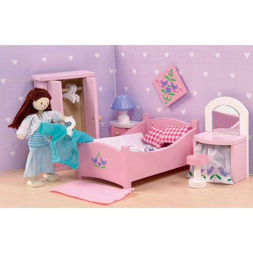 le toy van sugar plum bedroom me050 timber toys