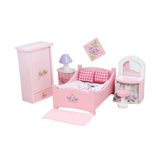 le toy van sugar plum bedroom me050 timber toys