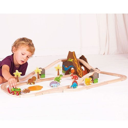 Big Jigs Train Sets – Timber Toys